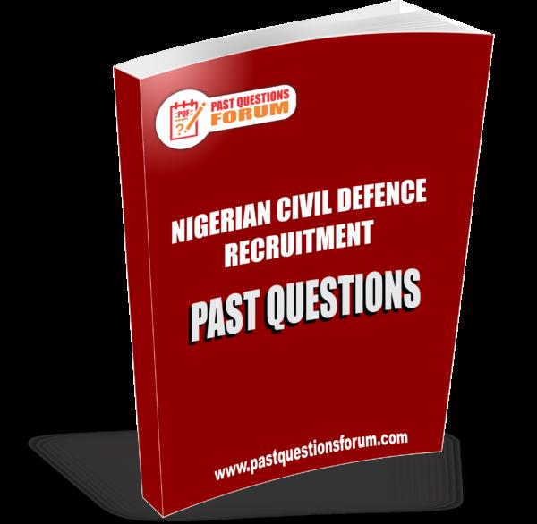 Civil Defence Past Questions