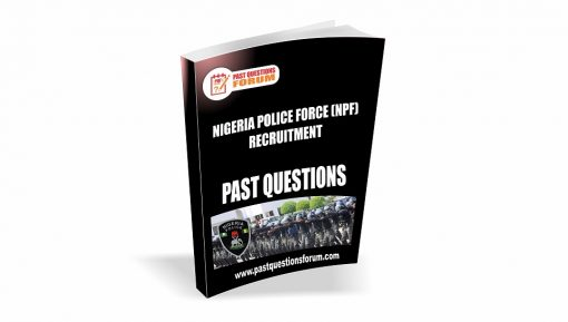 Nigeria Police Force past questions