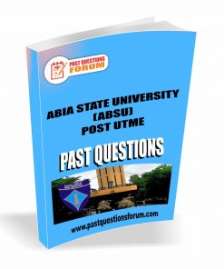 ABSU Post UTME Past Questions