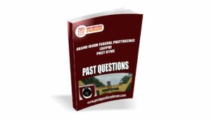 AIFPU Post UTME Past Questions
