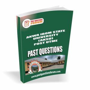 AKSU Post UTME Past Questions