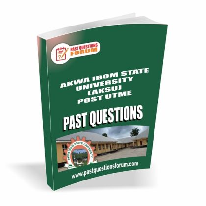 Akwa Ibom State University AKSU Post UTME Past Questions