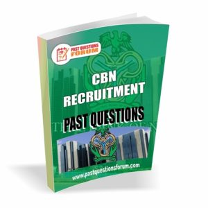 CBN Recruitment Past Questions