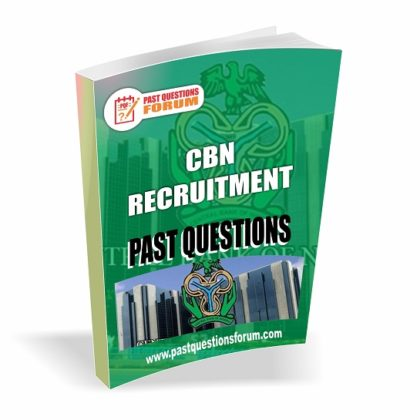 Central Bank of Nigeria CBN Recruitment Past Questions