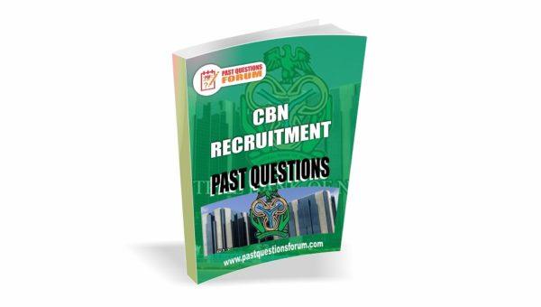 CBN Recruitment Past Questions