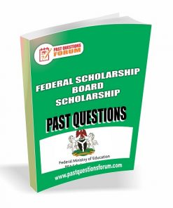 FSBN Scholarship Past Questions