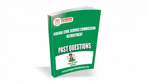 Federal Civil Service Past Questions