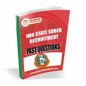 IMSUBEB Past Questions
