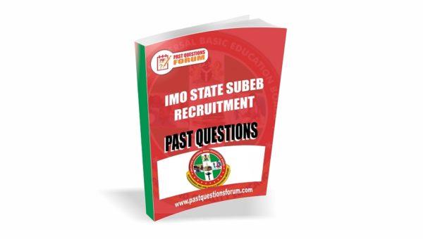 IMSUBEB Past Questions