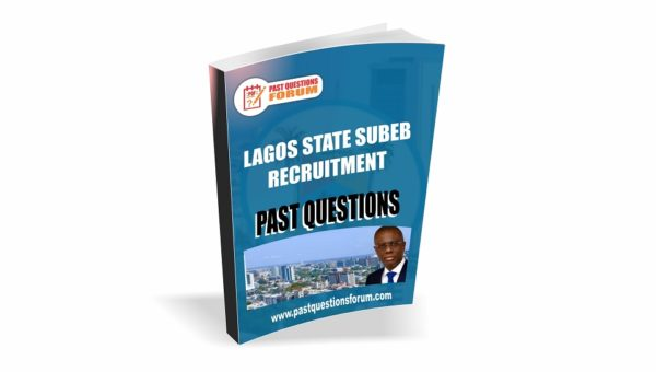 Lagos State SUBEB Past Questions