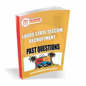 Lagos State TESCOM Past Questions