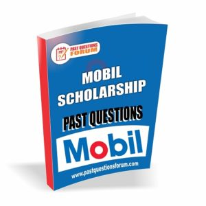 MOBIL Scholarship Past Questions