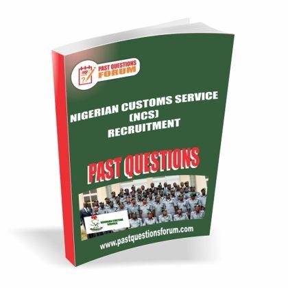 Nigerian Customs Service NCS Past Questions