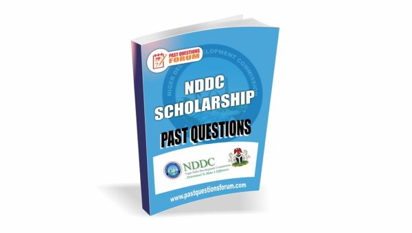 NDDC Scholarship Past Questions