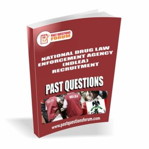 NDLEA Past Questions