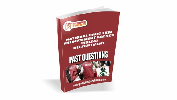 NDLEA Past Questions