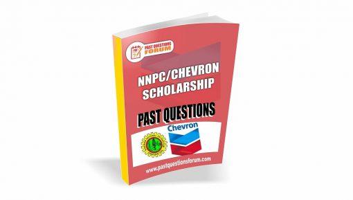 NNPC Chevron Scholarship Past Questions