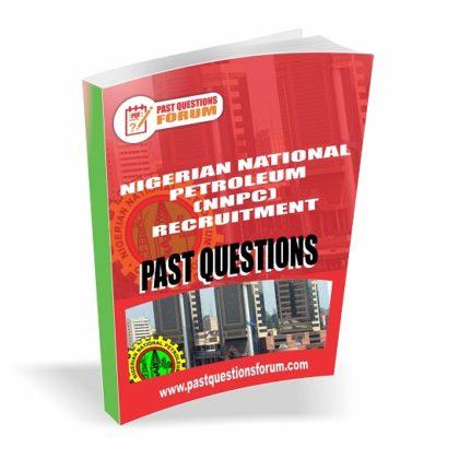 Nigerian National Petroleum Corporation NNPC Past Questions