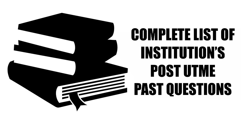 Post UTME Past Questions for any Institution