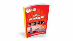SHELL Scholarship Past Questions