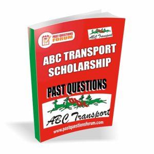 ABC Scholarship Past Questions
