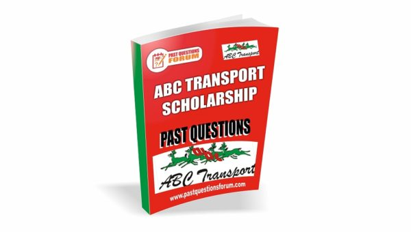 ABC Scholarship Past Questions