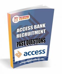 Access Bank Past Questions