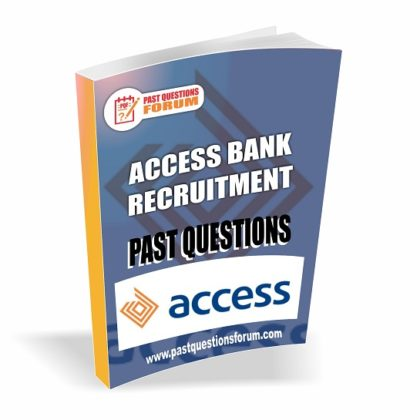 Access Bank Recruitment Past Questions and Answers PDF Download