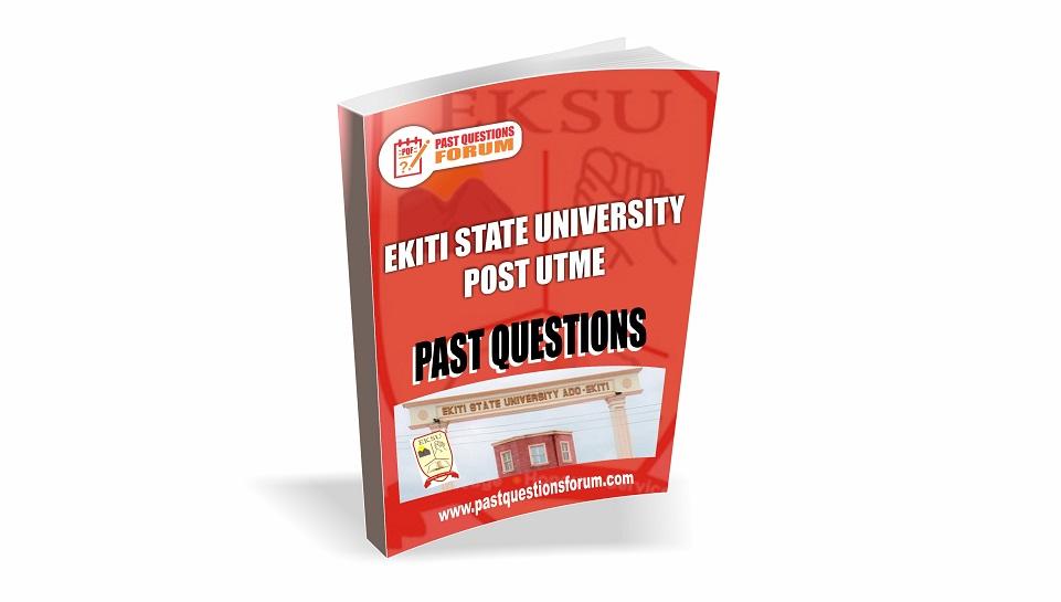 EKSU Post UTME Past Questions