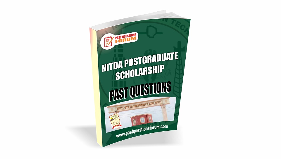 NITDA Postgraduate Scholarship Past Qeustions