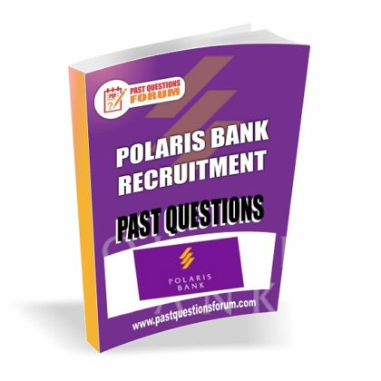 Polaris Bank Past Past Questions and Answers PDF Download Updated