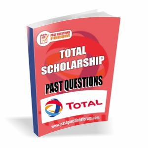 TOTAL Scholarship Past Questions