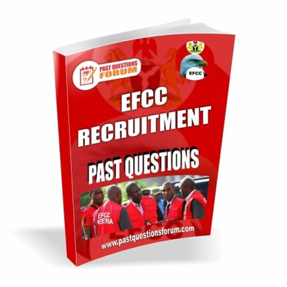 EFCC Recruitment Past Questions And Answers PDF Download Latest Version
