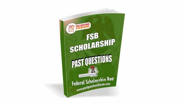 FSB Scholarship Past Questions