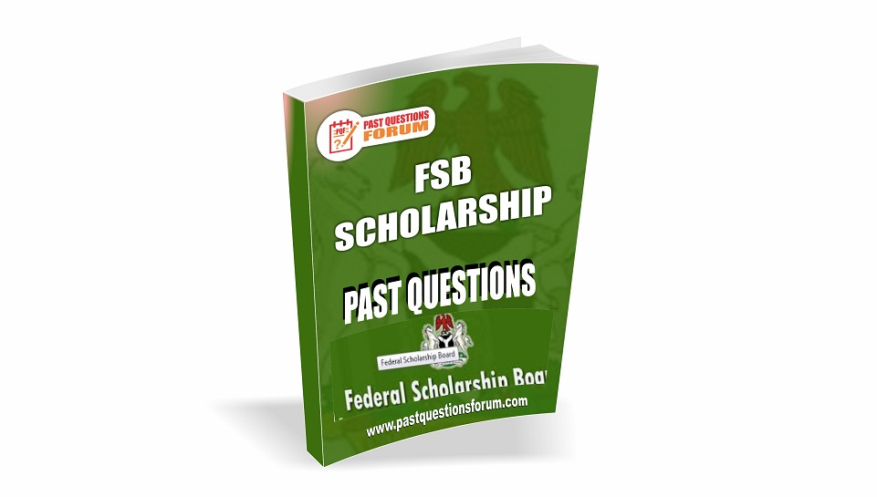 FSB Scholarship Past Questions