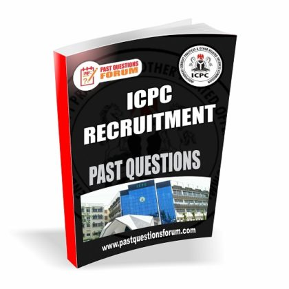 ICPC Recruitment Past Questions And Answers PDF Download PDF