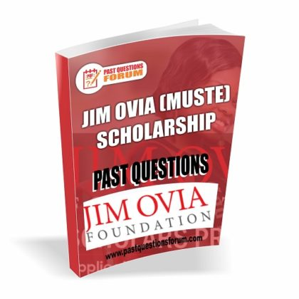 Download JIM OVIA (MUSTE) Scholarship Past Questions and Answers PDF