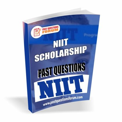 Download NIIT Scholarship Past Questions and Answers PDF