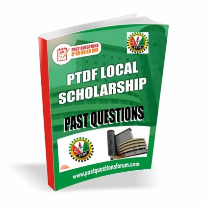 PTDF Scholarship Past Questions and Answers for Local Scholarship (USS) PDF Download