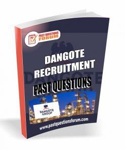 Dangote Recruitment Past Questions