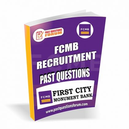 FCMB Past Questions And Answers | Download FCMB Interview Questions PDF