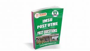 IMSU Post UTME Past Questions