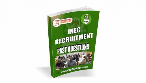 INEC Recruitment Past Questions