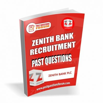Zenith Bank Interview Past Questions PDF | Download Zenith Bank Recruitment Past Questions and Answers