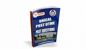 UNICAL Post UTME Past Questions For Social and Management Science