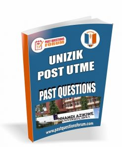 UNIZIK Post UTME Past Questions