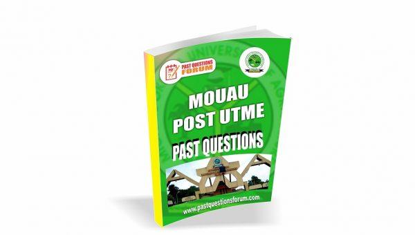 MOUAU Post UTME Past Questions