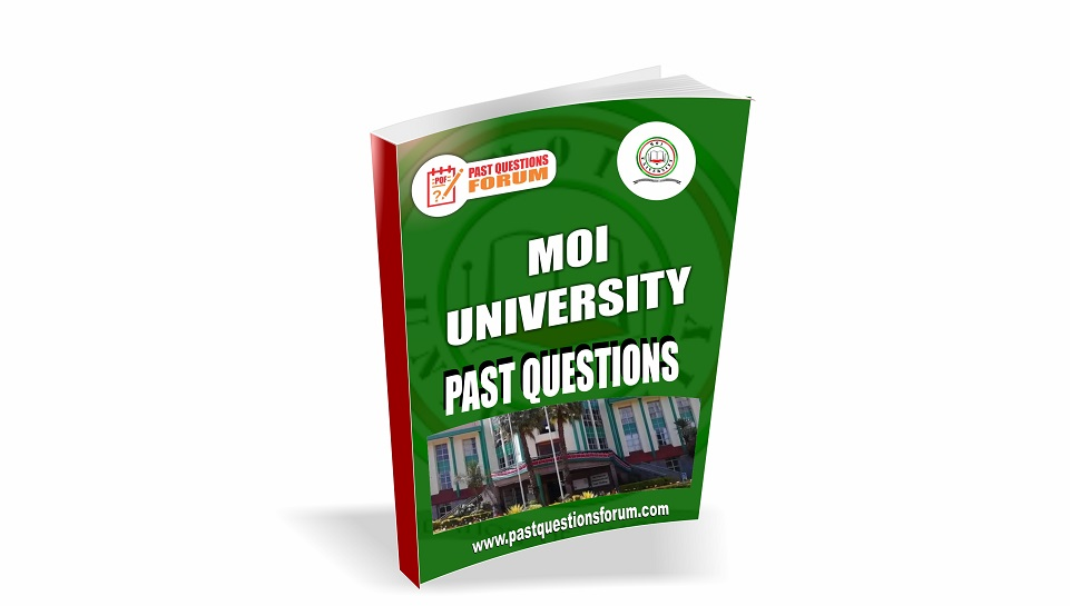 Moi University Past Questions Paper