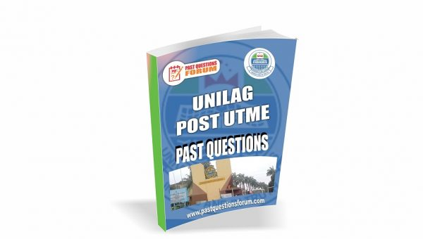 UNILAG Post UTME Past Questions