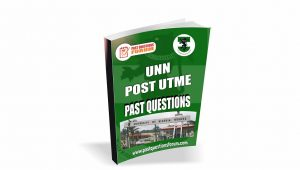 UNN Post UTME Past Questions